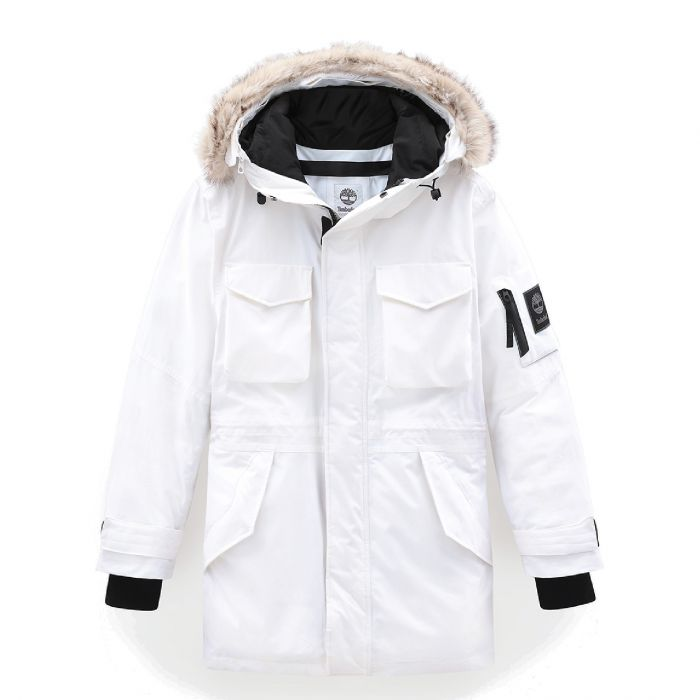 Citar tratar con sugerir  Nordic Edge Parka Jacket With Dryvent Technology White