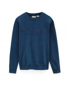 Taylor River Blue Crew Sweater