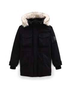Nordic Edge Parka Jacket With Dryvent Technology Black