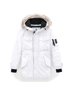 Nordic Edge Parka Jacket With Dryvent Technology White