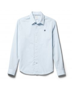 Eastham River Stretch Shirt Blue