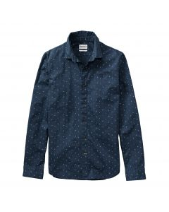 Long Sleeve Eastham River Shirt Navy