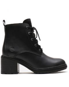 Sienna High Lace-Up Boot Black