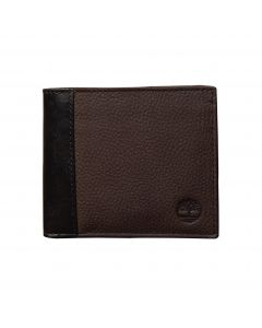 Bifold Wallet With Coin Pouch Brown