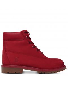 Junior 6-inch Premium Boot Medium Red