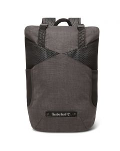 Roll Top Backpack Grey