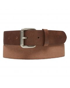 Canvas Stretch Belt British Khaki