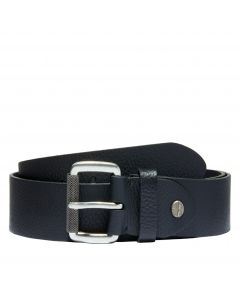 Timberland Men's 40MM Milled Tree Belt Black