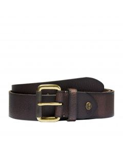 Timberland Men's 40mm Milled Tree Belt Brown