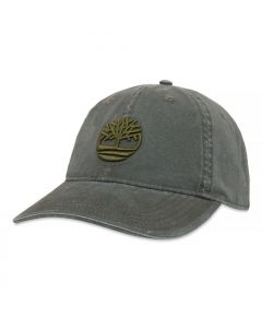 Cotton Canvas Cap Green