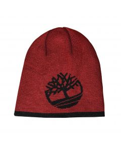 Reversible Tree Beanie Red