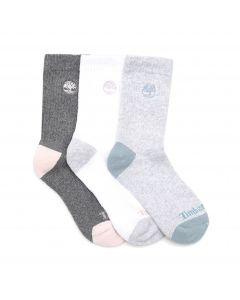 Sagamore Beach 3PK Half Cushion Socks White