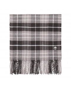 Plaid Scarf With Embroidery Gift Box Pavement