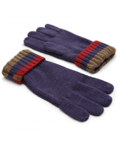 Cable Premium Knit Glove Grey