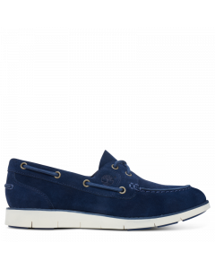 Timberland Women's Lakeville Boat Shoe Blue