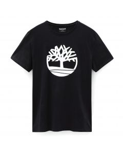 SS Brand Regular Tee Black