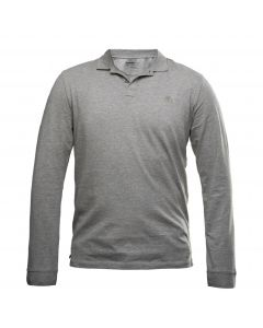 LS Cocheco River Supima Cotton Polo Slim Grey