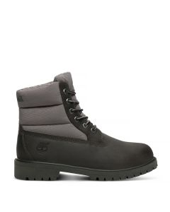 Youth 6-inch Quilt Boot Grey