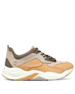 Delphiville Leather Sneaker Beige