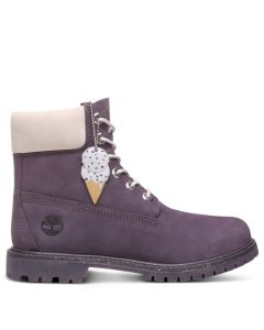Ice Cream 6-inch Boot Dark Purple