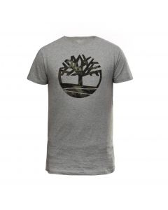 SS Kennebec River Seasonal brand Regular Tree Tee Grey