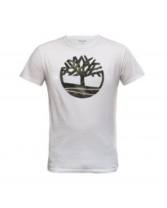 SS Kennebec River Seasonal Brand Regular Tree Tee White