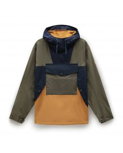 ECORIGINAL Anorak Wheat Green and Navy Jacket