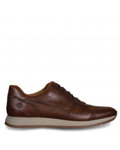 Madaket Leather Sneaker Dark Brown