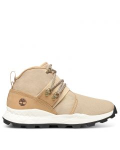 Brooklyn Leather and Fabric Chukka Wheat
