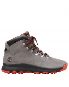 World Hiker Grey Suede