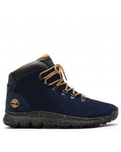 World Hiker Navy Suede