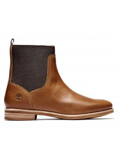 Timberland Women's Somers Falls Chelsea Boot Rust