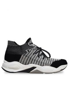 Women's Delphiville knit Sneaker Black and White | ONLINE EXCLUSIVE