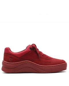 Ruby Ann Sneaker Dark Red Nubuck
