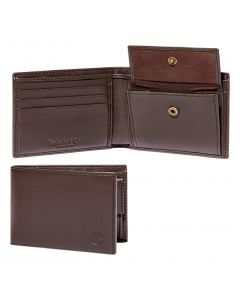 Timberland Billfold With Coin Pocket