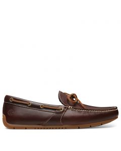 Lemans Gent Driver Boat Shoe Brown