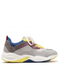 Delphiville Leather Sneaker Multi Colour Nubuck