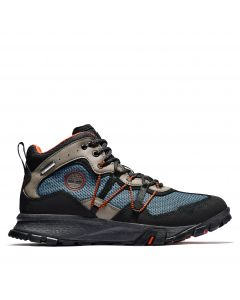 Timberland Men's Garrison Trail Mid Fabric Blue and Black