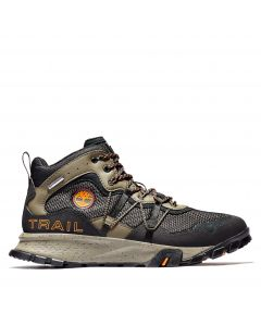 Timberland Garrison Trail Mid Fabric Boot Black and Brown