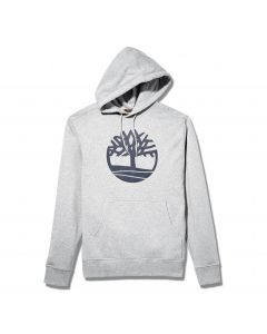 Timberland Men's Core Tree Logo Hoodie Grey