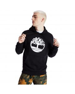 Timberland Men's Core Tree Logo Hoodie Black