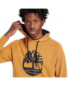 Timberland Men's Core Tree Logo Hoodie Wheat