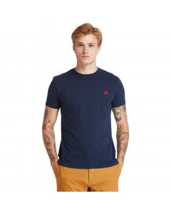 Timberland Men's Dun-River Crew T-Shirt Navy