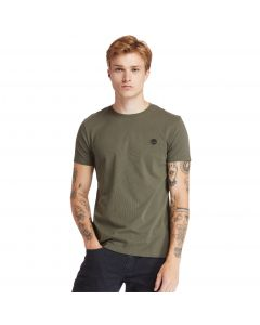 Timberland Men's Dun-River Crew T-Shirt Green