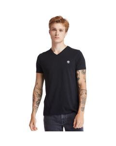 Timberland Men's Dun-Riv V Neck T-shirt Black