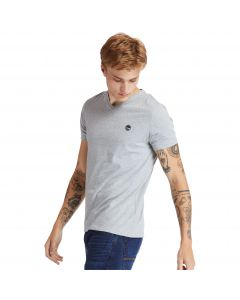 Timberland Men's Dun-Riv V Neck T-shirt Grey