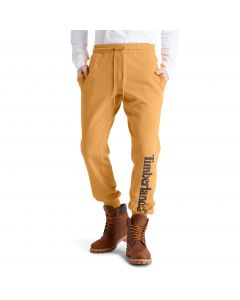 Timberland Men's Core Logo Sweatpant Wheat