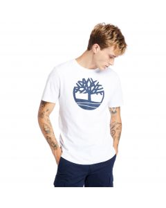 Timberland Kennebec River Tree Logo Tee White