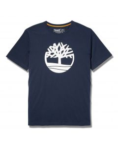 Timberland Kennebec River Tree Logo Tee Navy