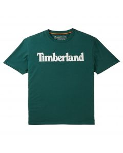 Timberland Men's K-R Brand Linear T-Shirt Green